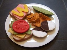 Felt Pack to make our Deluxe Lunch Set by sweetemmajean on Etsy