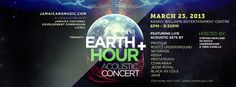 Celebrate Earth Hour at an acoustic reggae concert in Kingston featuring artists like Protoje and Rootz Underground. March 23, 2013