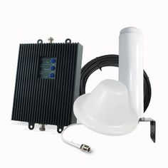 SureCall SC-TriTH/O-72-OD-KIT Tri-Flex T-Mobile 4G LTE Cell Phone Signal Booster - Omni/Dome Antenna