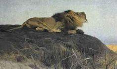 Brüllender Löwe  ....Wilheim Kehnert
