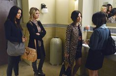 Who's missing from this photo? Tune in to all new episodes of Pretty Little Liars Tuesdays at 8/7c on ABC Family!