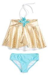 Love U Lots Starfish Two-Piece Swimsuit (Toddler Girls & Little Girls)