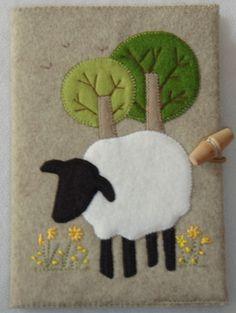 The Bobbin Patch :: Kits :: Notebook Kits. :: Sheep notebook kit.