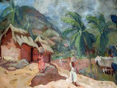 Luis Alfredo López Méndez Painting, Tropical, Chinese Rice Recipe, Beverages, Artists, Art, Oriental Food, Cook, Painting Art