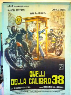 Original movie poster Quelli della calibro 38
