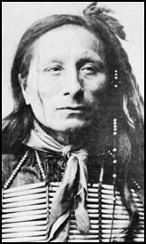 Arnold Short Bull, a member of the Sičháŋǧu Lakota tribe of Native Americans, instrumental in bringing the Ghost Dance movement to the reservations.