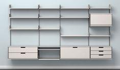 Vitsœ|ヴィツゥ 「606 ユニバーサル・シェルビング・システム」 最小のシステムで1万4580円~(輸送料別)