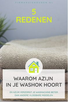 5 Redenen waarom azijn in je washok hoort - Firma Huishouden Cleaning Solutions, Cleaning Hacks, Laundry Hacks, Natural Cleaning Products, Organization Hacks, Housekeeping, Good To Know, Helpful Hints, Saving Money