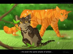 ... as an apprentice, and a Medicine cat she looked on and watched the cat she loved (Firestar) get a mate and have kits and love two she-cats that weren't her. Description from mizu-no-akira.deviantart.com. I searched for this on bing.com/images