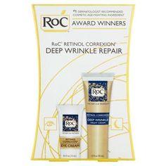 RoC Retinol Correxion Deep Wrinkle Repair Variety Pack, 2 pc, Multicolor