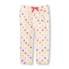 Toddler Girls Active Printed Sweats | The Children's Place
