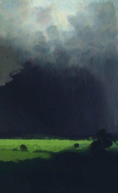 Arkhip Kuindzhi, After a Rain, ca.1879.