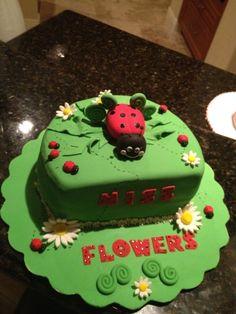 Lady Bug Cake/Tarta Bichito de Luz