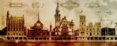 Exposition universelle 1900 - Les bords de Seine