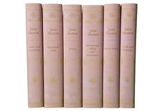 GORGEOUS Jane Austen Books.  I would give my left arm for this set of books if that wouldn't make reading them so difficult!