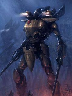 Eldar Iyanden Wraithknight