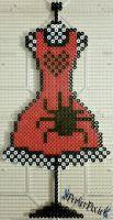 Red Spider Dress by PerlerPixie