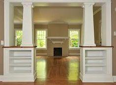 craftsman style pillars interior - Google Search