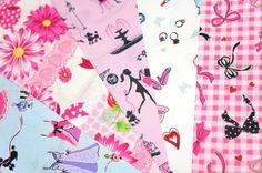 lolita fabric scrap si89 by beautifulwork on Etsy, $4.98