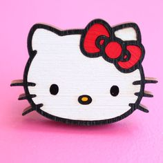 Hello Kitty Wooden Ring