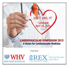 2013 WHV Annual Cardiovascular Symposium  Register today!