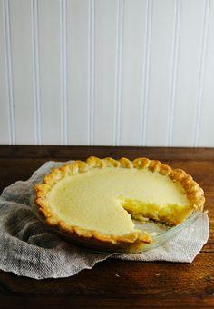 Hummingbird High - A Desserts and Baking Food Blog in Portland, Oregon: Meyer Lemon Chess Pie RECIPE