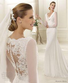 manuel mota 2013 ganges wedding dress