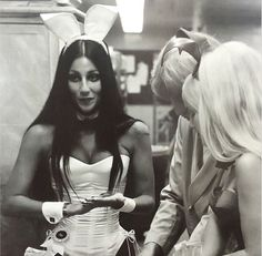 """evil-woman: """"Cher at the Playboy Club, 1971 """""""