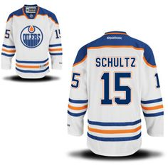 Edmonton Oilers 15 Nick Schultz Road Jersey - White [Edmonton Oilers Hockey Jerseys 035] - $50.95 : Cheap Hockey Jerseys