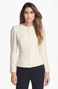 Lafayette 148 New York 'Donatella' Tweed Jacket available at #Nordstrom