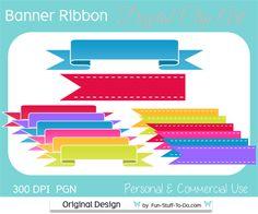 Banner & Ribbon Label | Clip Art