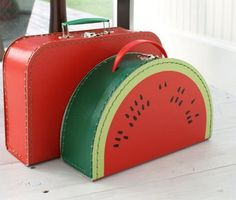 Valisettes #sandia #bag - via @Kenny Chang Milano