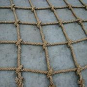 How to Make a Climbing Cargo Net | eHow for the deck playland