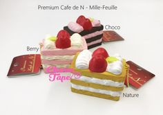 Premium Cafe de N Mille-Feuille Cake squishy cellphone charm   $13.95 buy from http://www.charmtape.com #squishies #squishy #cafe #cute #kawaii #Japan #slowrising #slowrise #slowrisingsquishy #slowrisesquishy #stressrelease #stressball  #charmtape  #cake #dessert #cafeden #cafedensquishy #premiumcafedn #premium #strawberry #chocolate #japanonly #vanilla #Mille-Feuille #millefeuille   $13.95 buy from http://www.charmtape.com