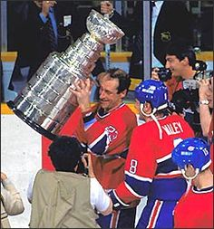 Bob Gainey(Montreal Canadiens) You can do it, Montreal! Stanley Cup Playoffs, Stanley Cup Champions, Montreal Canadiens, Team Player, Hockey Players, Canada, Champs, A Team, Nhl