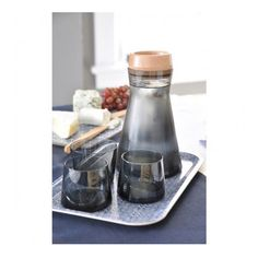 Avva Carafe with Stopper by Teroforma, Click to Experience.