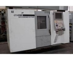 DMG GILDEMEISTER CTX 210 USED 3-AXIS CNC LATHE | Machinebot.com