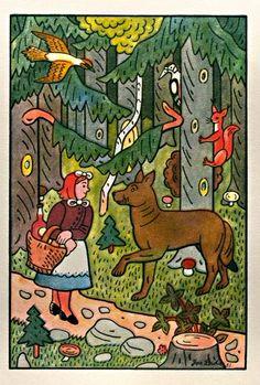 Karkulka and Wolf, 1953