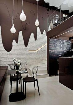 cafe wall design - Hľadať Googlom