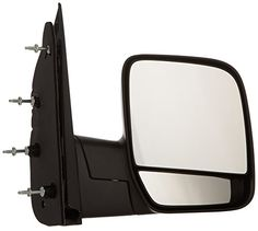 OE Replacement Ford Econoline Van Passenger Side Mirror Outside Rear View (Partslink Number FO1321253). For product info go to:  https://www.caraccessoriesonlinemarket.com/oe-replacement-ford-econoline-van-passenger-side-mirror-outside-rear-view-partslink-number-fo1321253/