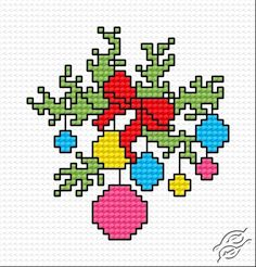Festive Adornment - Free Cross Stitch Pattern