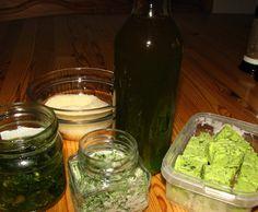 Rezept Bärlauch ( Salz, Butter, Pesto, Öl, Paste etc.) von christiane1962 - Rezept der Kategorie Grundrezepte