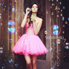 pretty Prom Dresses photoshoot tumblr   ... Pictures: Kendall & Kylie Jenner Model Sherri Hill Prom Dress gowns