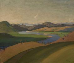 Elioth Gruner Yass Landscape, 1929
