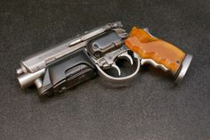 Deckard's pistol from Blade Runner used for dispatching replicants.