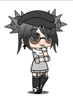 anime wolf character chibi gladys aesthetic amazonaws drawing furry use