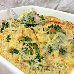 Brocoli gratinado http://www.divinacocina.es/brocoli-gratinado/