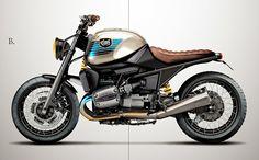CRD Motorcycles CRD#39 BMW R1100R en su recta final!! - CRD Motorcycles