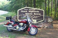 Ozark Highlands Scenic Byway | Arkansas Motorcycle Roads and Rides | MotorcycleRoads.com #HDNaughtyList #BikeItList