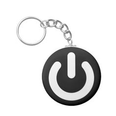 Geek Power Ideology Keychain